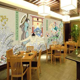 餐厅墙体彩绘公司