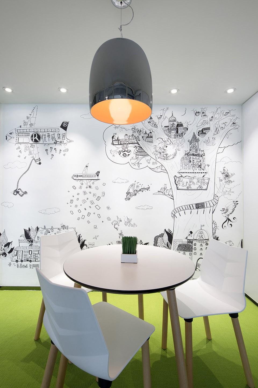 追求个性和异类的墙绘自然受到了人们的喜爱