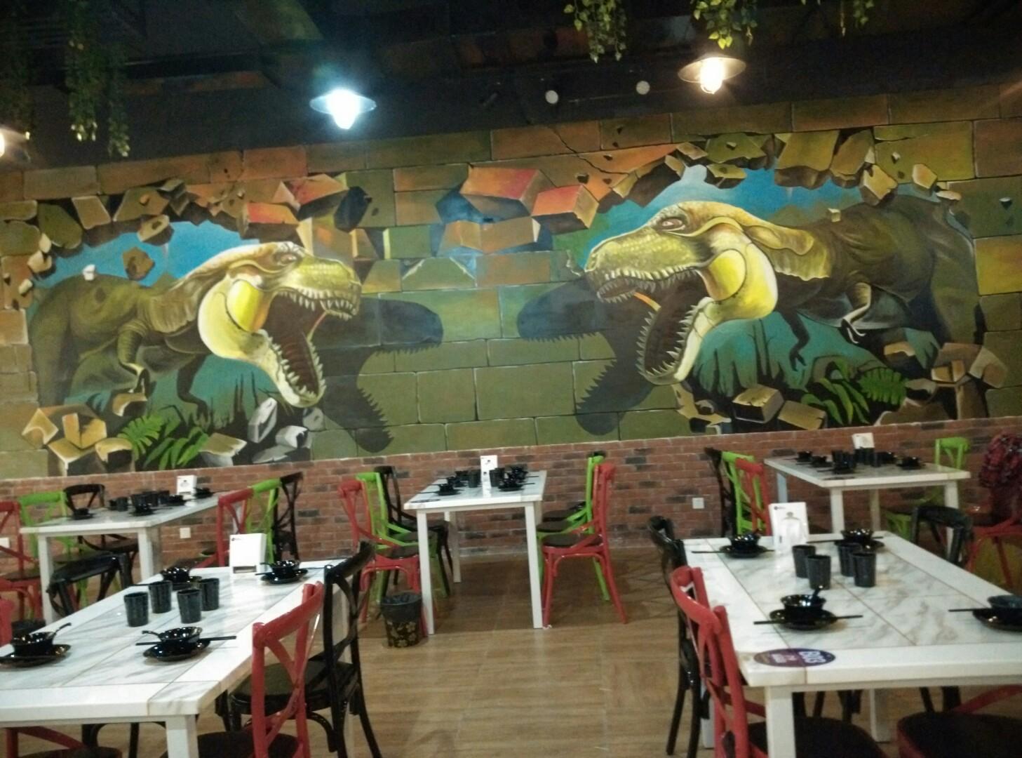 南昌涂鸦画画,南昌幼儿园墙面涂鸦